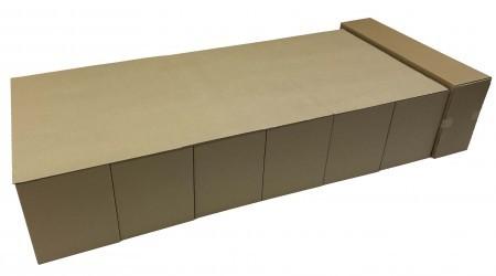避難所対策用 ダンボールベッド 緊急災害時 簡単組立て式段ボールベッドNEW 送料込