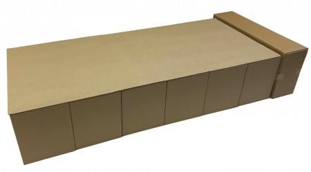 緊急災害時 簡単組立て式段ボールベッド 送料込