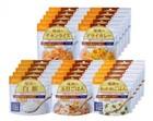 防災アプリQRコード付き 備蓄食料セット 5年保存尾西食品 アルファ米25袋セット