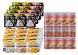 防災アプリQRコード付き 備蓄食料セット 5年保存家族4人3日分食料セットB(生命のパン)×6セット
