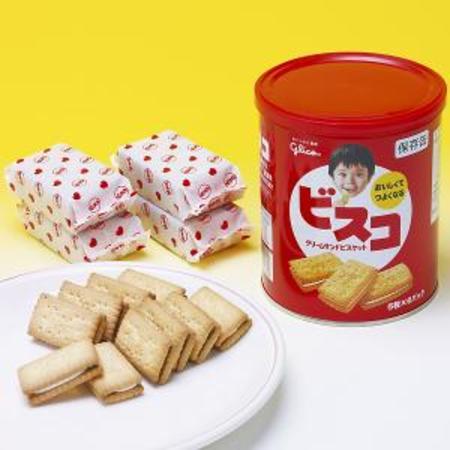 ビスコ保存缶 5枚入/6パック 40缶入/箱