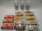 アレルギー物質27品目未使用1人様3日分9食+保存水×3本セットKO-3
