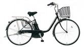 パナソニック電動ノーパンク自転車 ビビTX プレミアムブラック