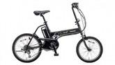 パナソニック電動ノーパンク自転車 オフタイム マットナイト×ブラック