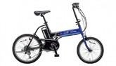 パナソニック電動ノーパンク自転車 オフタイム フェニックスブルー×ブラック